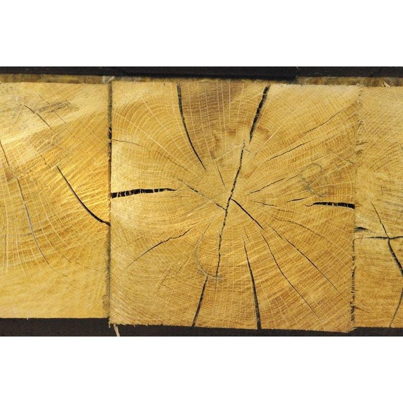 Poutre En Chêne 15x15 Cm Non Traité Longueur 3 M