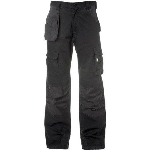 pantalon de travail multipoche caterpillar dl trouser noir taille 44 46 leroy merlin. Black Bedroom Furniture Sets. Home Design Ideas