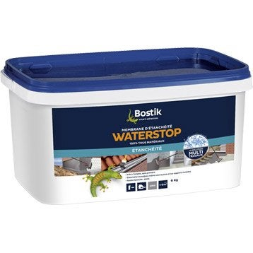 Revêtement d'étanchéité Water stop, BOSTIK gris 6 kg