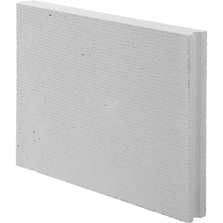 Carreau de b ton cellulaire x x ep 7 cm cellumat - Carreau beton cellulaire ...
