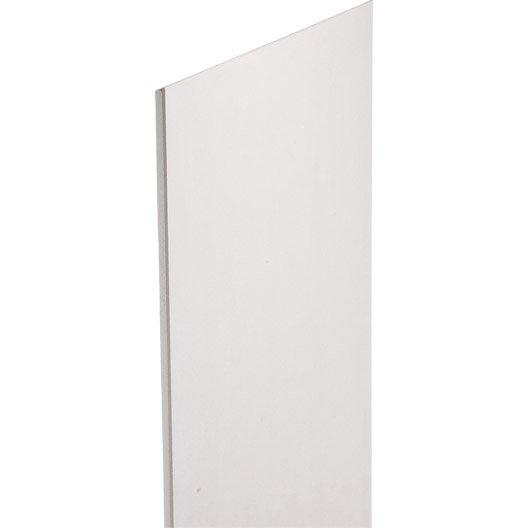 doublage en polystyr ne expans siniat th 38 2 5 x ep 13 20mm r leroy merlin. Black Bedroom Furniture Sets. Home Design Ideas
