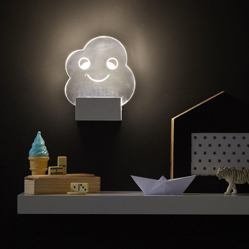Applique, design led intégrée Lucata acrylique Transparent, 1 ...