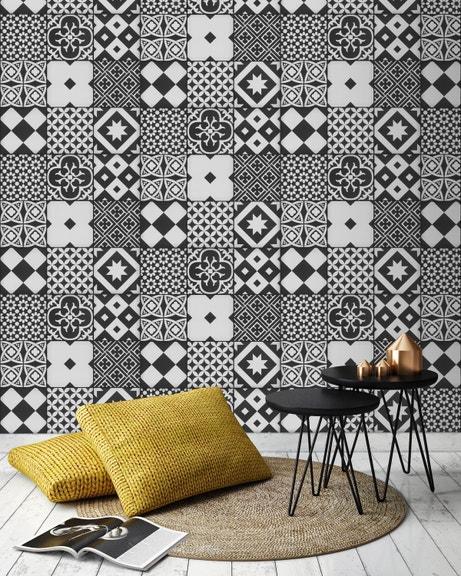 Toutes les photos de la tendance atelier leroy merlin - Papier peint carreaux de ciment 4 murs ...