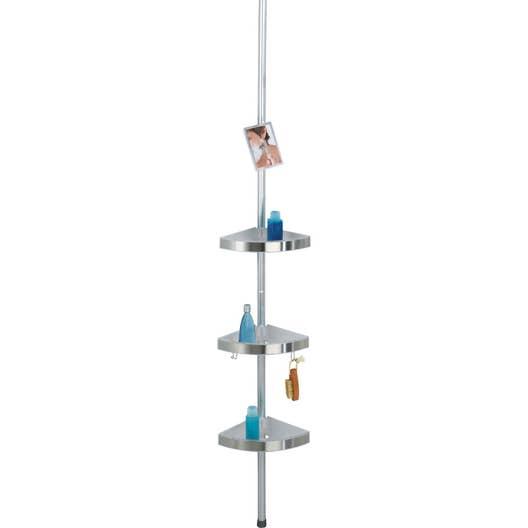 Etagère de bain / douche Premium téléscopique (sol et plafond ...