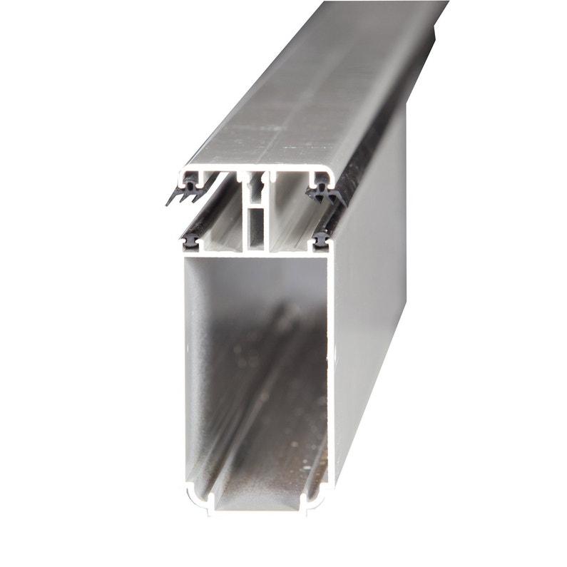 Tube 121 Sur Mesure Jonction Pour Plaque Ep 32 Mm Aluminium L05 M