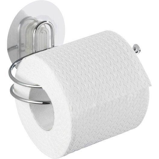 d rouleur papier toilette inox sans couvercle static loc leroy merlin. Black Bedroom Furniture Sets. Home Design Ideas