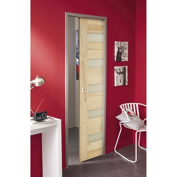 ensemble porte coulissante porte galandage porte galandage am nagement int rieur leroy merlin. Black Bedroom Furniture Sets. Home Design Ideas