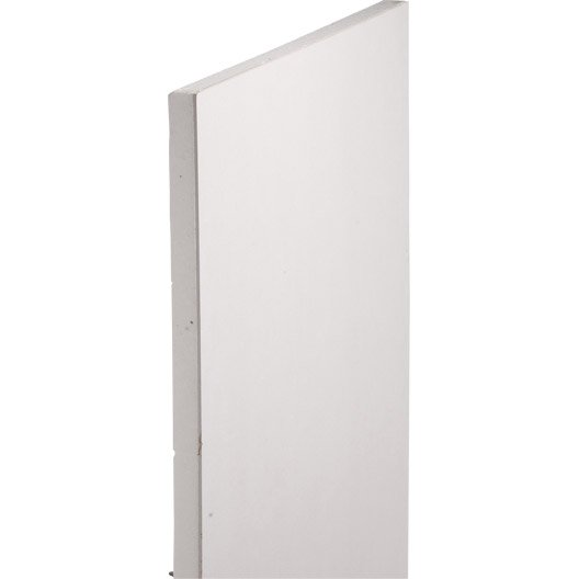 doublage en polystyr ne expans th 38 siniat 2 5 x ep 13 60mm r leroy merlin. Black Bedroom Furniture Sets. Home Design Ideas