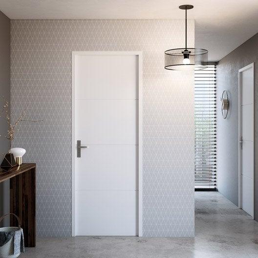 Porte int rieur et bloc porte menuiserie int rieure porte vitr e porte bois au meilleur prix - Bloc porte 63 cm ...