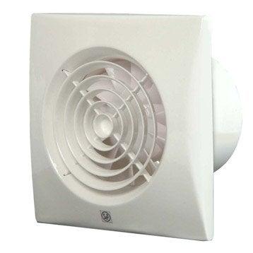 Aérateur extracteur intermittent à détection d'humidité S&P Silent 300 chz 150mm