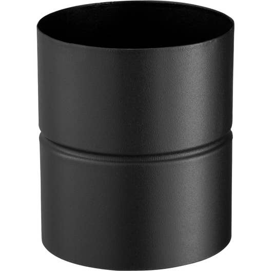 adaptateur pour raccordement poujoulat d 150 noir cm. Black Bedroom Furniture Sets. Home Design Ideas