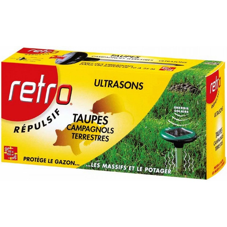 Répulsif Ultrasons Antitaupes Retro