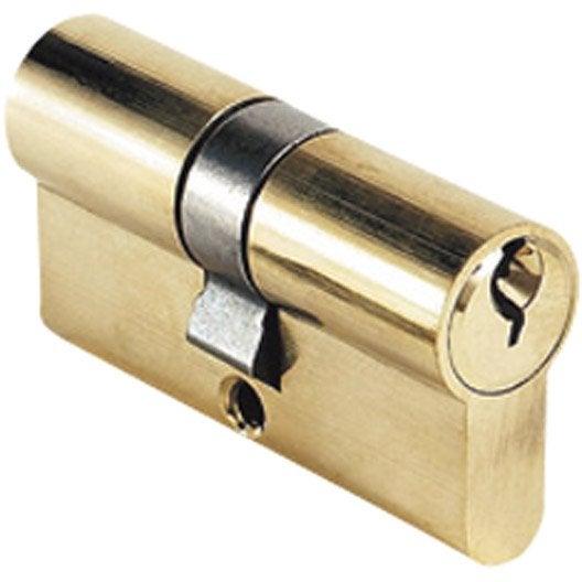 Cylindre de serrure L.30+30 mm