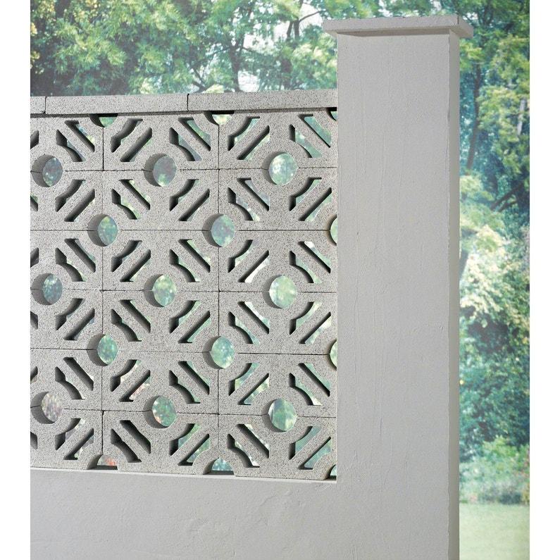 claustra blanc x x p 9 cm leroy merlin. Black Bedroom Furniture Sets. Home Design Ideas