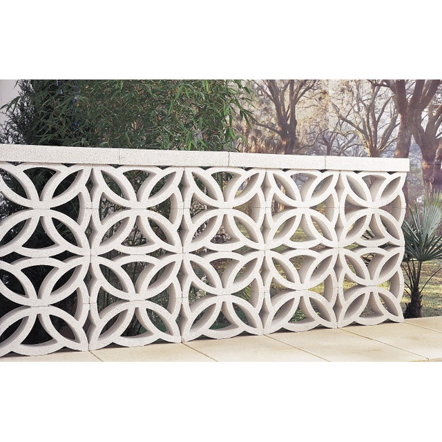 une cl ture claustra en b ton ocre leroy merlin. Black Bedroom Furniture Sets. Home Design Ideas