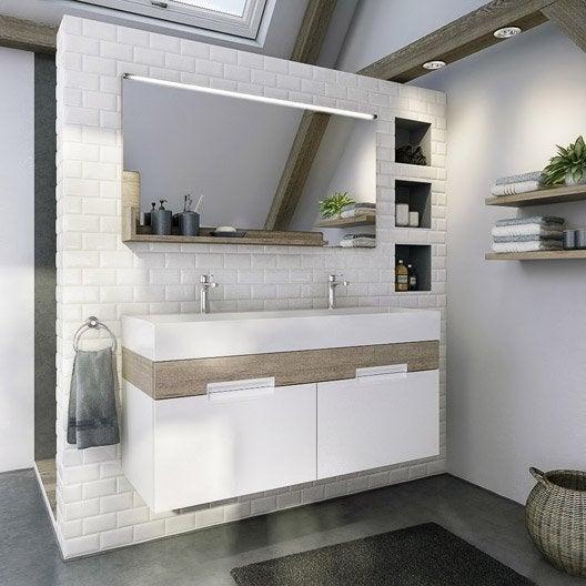 Devis salle de bain leroy merlin maison design for Meuble salle de bain 120 leroy merlin
