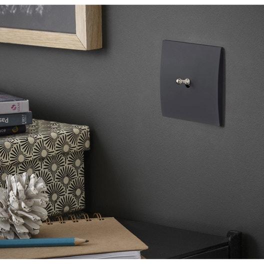 Interrupteurs Et Prises Modul Design Série Karo Noir