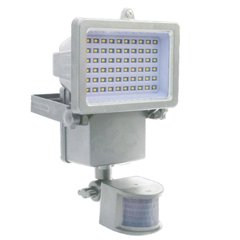 Projecteur à Détection Solaire 1000 Lm Blanc Chromex