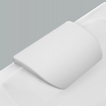 Repose-tête L.26x l.15 cm blanc Idealsmart