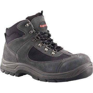 Chaussures de sécurité hautes KAPRIOL Nebraska, coloris gris T45