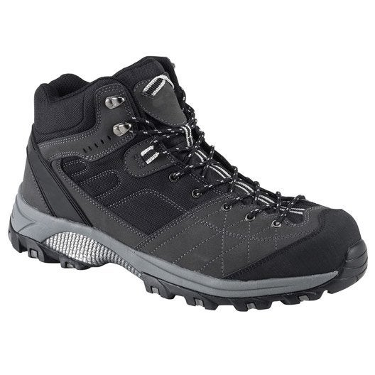 chaussures de s curit hautes kapriol dakota coloris gris noir t42 leroy merlin. Black Bedroom Furniture Sets. Home Design Ideas