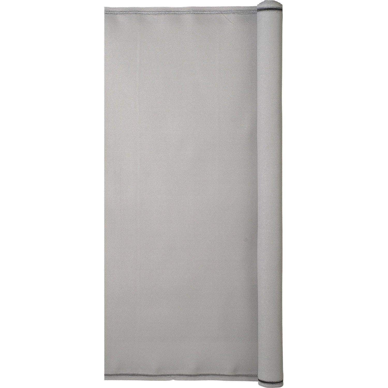brise vue poly thyl ne naterial gris galet n 3 cm x. Black Bedroom Furniture Sets. Home Design Ideas