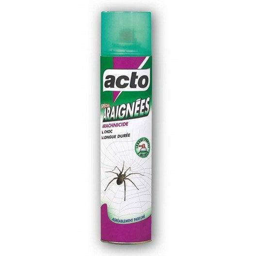 aerosol anti araignees acto 400 ml leroy merlin