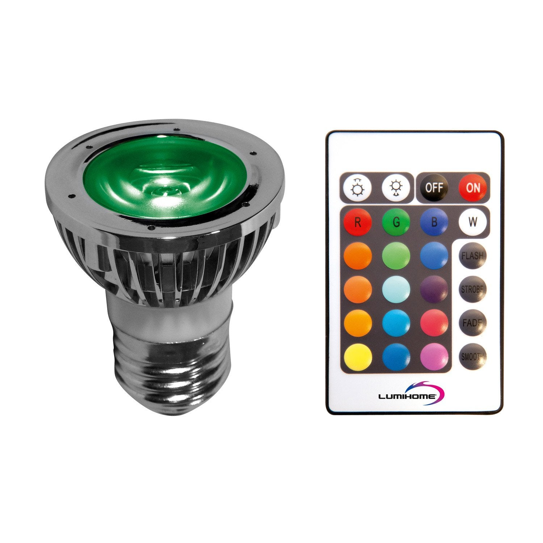 5w Ampoule LedChangement De 50° Réflecteur E14 Télécommande CouleursAvec tsCdrhQ