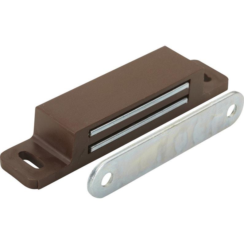 Loqueteau Magnétique Plastique Hettich L 17 3 X L 75 Mm