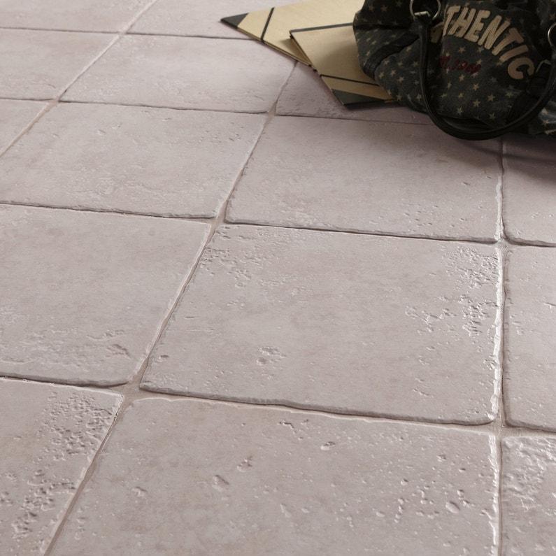 Du carrelage effet pierre de toscane pour la terrasse for Carrelage quartz