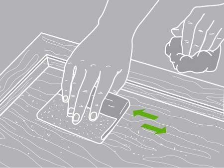 Comment restaurer un meuble leroy merlin - Renover un meuble en bois vernis ...