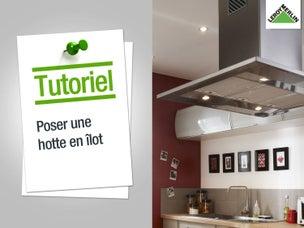 Tout savoir sur le rangement dans la cuisine leroy merlin - Comment installer une hotte de cuisine ...