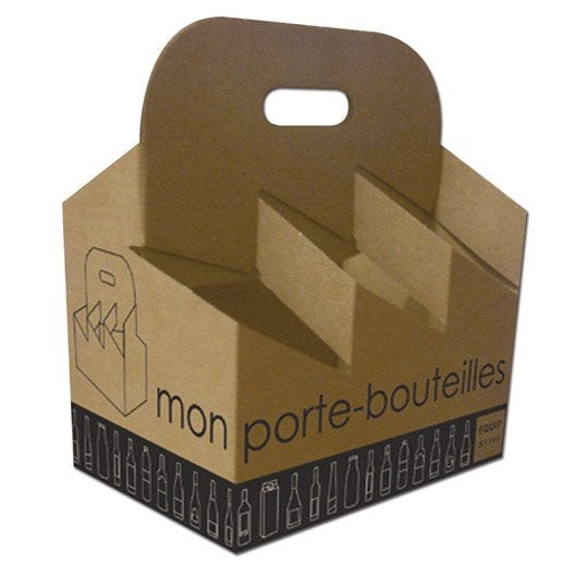 Carton porte-bouteilles