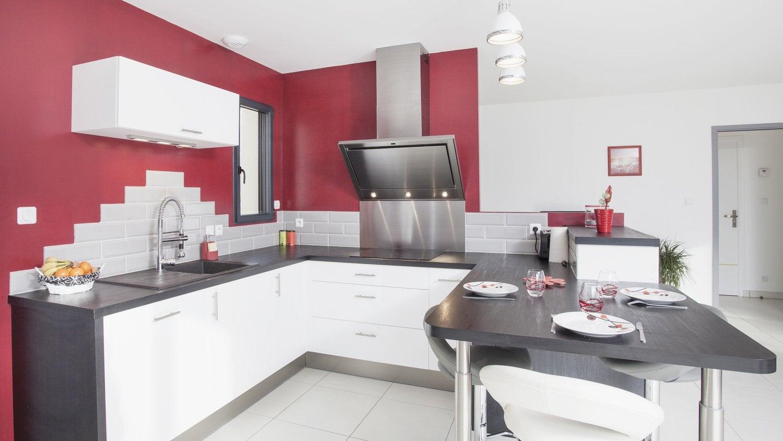 stunning votre cuisine en u with plan de travail escamotable pour cuisine - Plan De Travail Escamotable Pour Cuisine