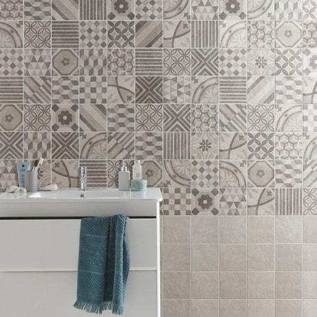 Donner un style vintage à la salle de bains avec des carreaux de ciment