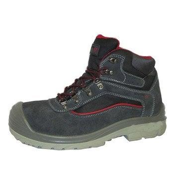 Chaussures de protection hautes REDSTONE Allen, coloris noir T45