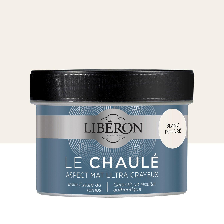 Peinture Pour Meuble, Objet Et Porte, LIBERON, Effet Chaulé, Blanc Poudré  0.25