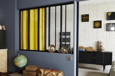 Verrière intérieure atelier : cuisine, salle de bains et chambre ...