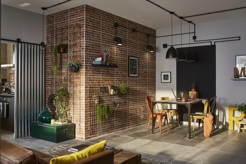 Un appartement revisité version loft new yorkais  Leroy Merlin