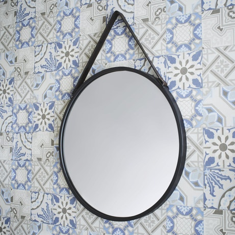 Le miroir barbier vintage la touche r tro dans la d co for Miroir rond deco