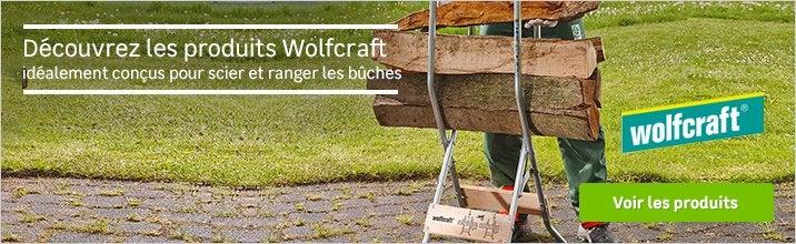 Découvrez les produits WOLFCRAFT