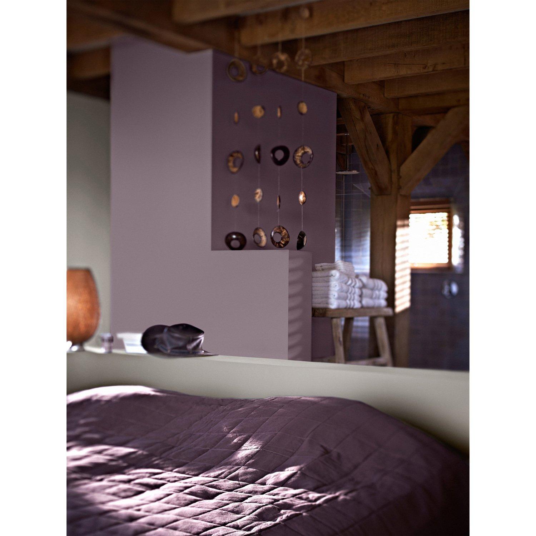 Chambre Adulte Violet Et Gris une chambre violette pour adulte   leroy merlin