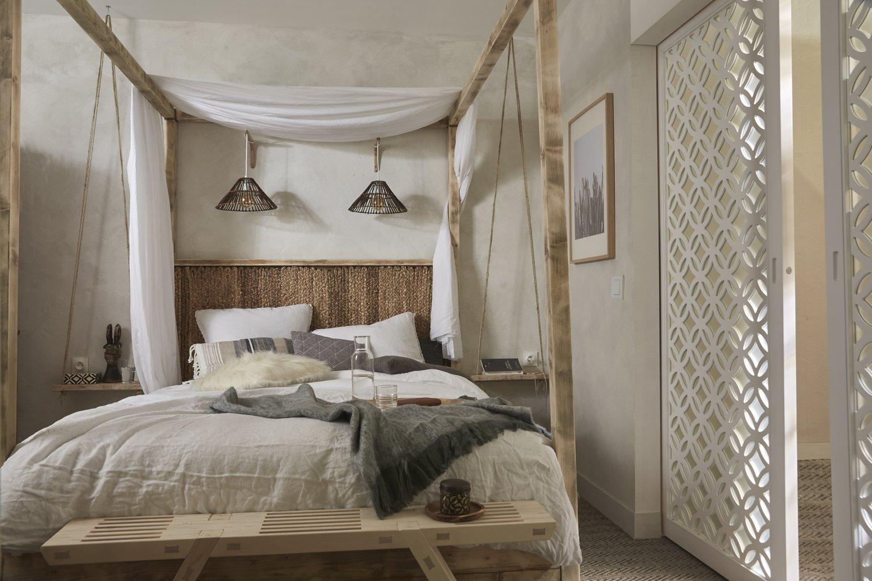 une chambre zen pour adulte leroy merlin. Black Bedroom Furniture Sets. Home Design Ideas