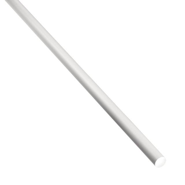 Rond Plein Aluminium Anodisé Argent L1 M X L06 Cm X H06 Cm X Diam6 Mm