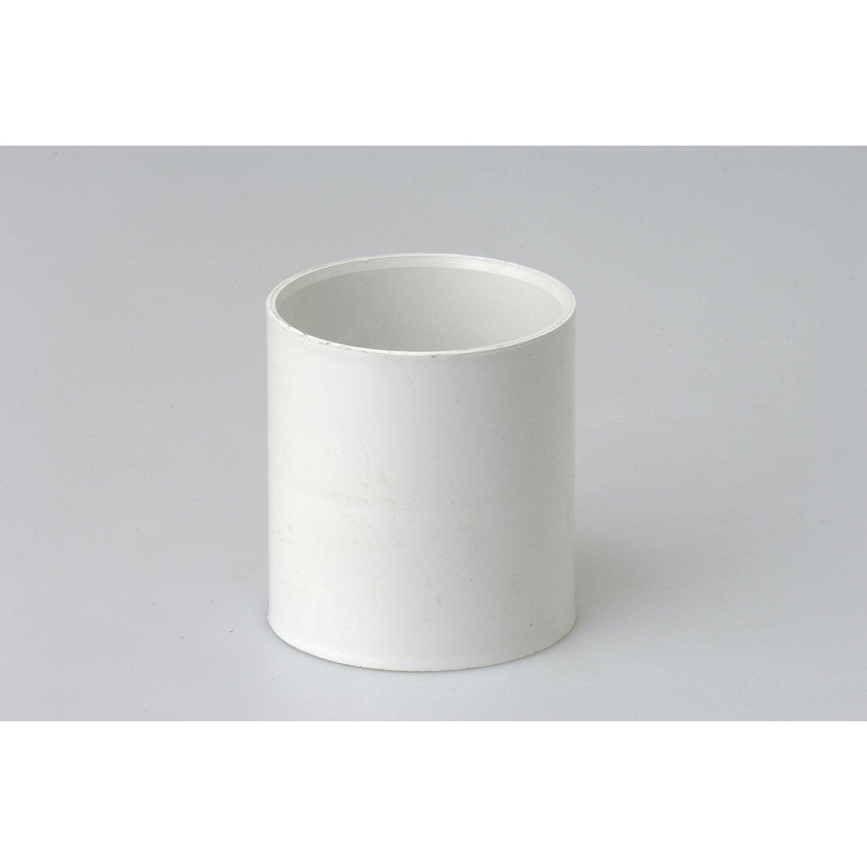 manchon pvc blanc girpi d cm mm leroy merlin. Black Bedroom Furniture Sets. Home Design Ideas