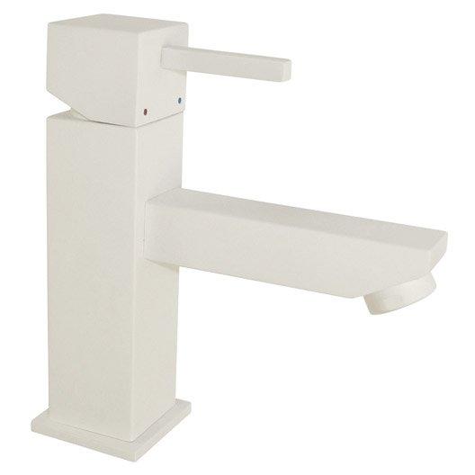 mitigeur lavabo blanc gerzat leroy merlin. Black Bedroom Furniture Sets. Home Design Ideas