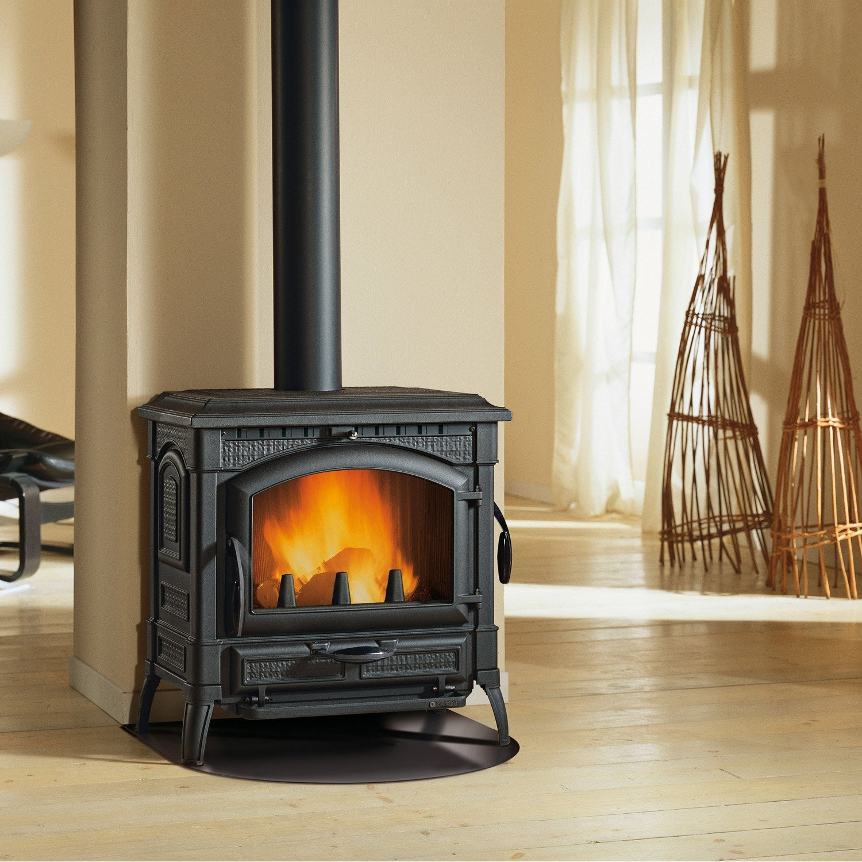 po le bois nordica isotta evo 11 9 kw leroy merlin. Black Bedroom Furniture Sets. Home Design Ideas