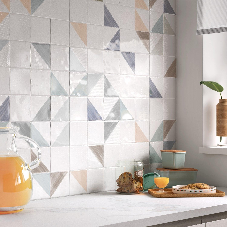 Embellir Les Murs De La Cuisine, Avec Du Carrelage Mural Blanc