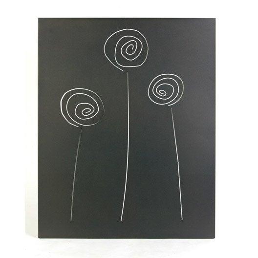 plaque de protection murale gris sabl atelier dixneuf s lene x leroy merlin. Black Bedroom Furniture Sets. Home Design Ideas