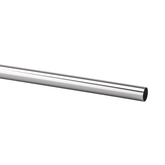 Tube penderie 63 5 cm chrom leroy merlin - Tube inox leroy merlin ...
